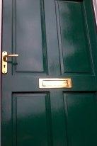 Underdwelling front door