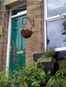 Underdwelling front door, windows, lintels, gate