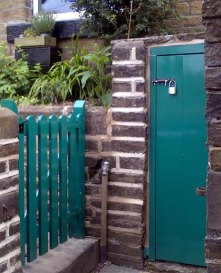 Underdwelling gates