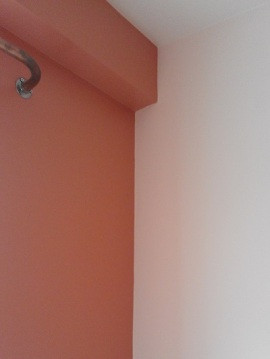 Flat_bedroom with curtain pole
