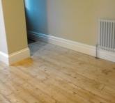Floor by door