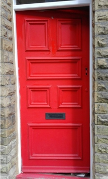 Front door_red before