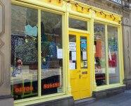 Yellow shopt Todmorden